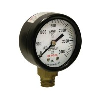 "Winters Instruments PCG9014 1.5"" COMPRESSED GAS GAUGE, 0-30 PSI, 1/8"" BACK PCG COMPRESSED GAS PRESSURE GAUGE"