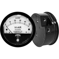 """Winters Instruments PFD40010 PFD SERIES 0/0.25""""H2O 1/8"""" NPT 2% ACCURACY WinAIR DIFFERENTIAL PRESSURE GAUGE"""