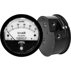 "Winters Instruments PFD40025 PFD SERIES 0/40""H2O 1/8"" NPT 2% ACCURACY WinAIR DIFFERENTIAL PRESSURE GAUGE"
